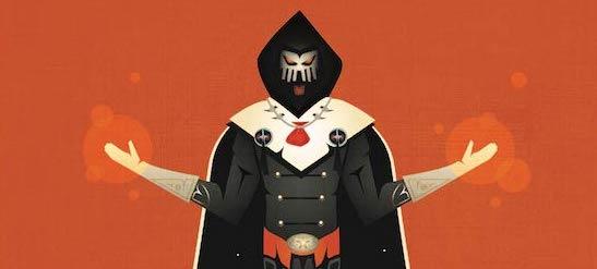 The hero of Demicon, Blackheart